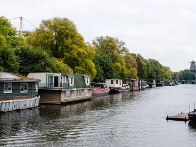 "Photo for This spacious houseboat is located on the ""Wittenburgergracht"""