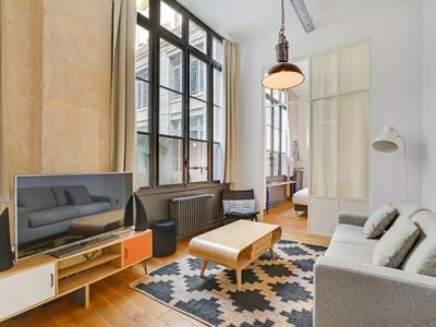 Photo for A Trendy 2-BR loft in a Central Location with Parking
