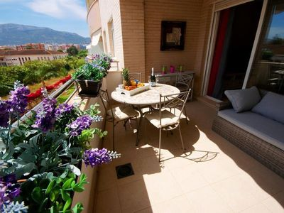 Photo for V33. 3 bedroom apartment in Urb. Round of the sea