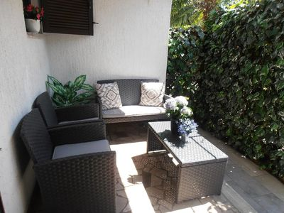 Photo for One bedroom apartment with terrace Sveti Anton (Krk) (A-5288-b)