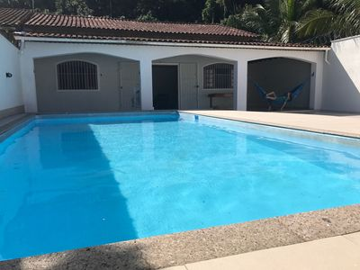 Photo for WONDERFUL HOUSE WITH SWIMMING POOL - PRAIA DO FORTE BOQUEIRAO WATTS APP 11 94015 7534