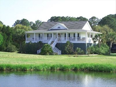 Unobstructed Views of the Lagoon, Golf Course and SUNSETS