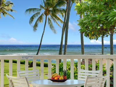 Photo for Kiahuna Plantation #186 - Superior Ocean Views at a Great Rate!