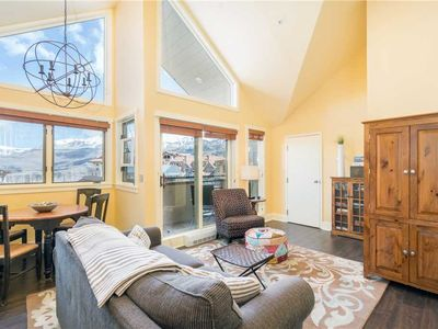 Photo for Family-Friendly Lofted Condo With Ideal Mountain Village Core Location