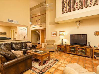 Photo for Phoenix Charm sleeps 12 just 1 mile from Dreamy Draw Recreation Area. Private pool!