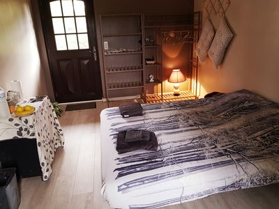 Photo for Two rooms furnished with bathroom and breakfast