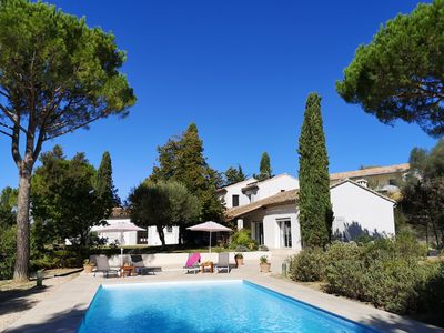 Photo for Traditional southern style villa with private large garden and swimming pool