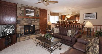 Photo for ADIRONDACKS 3  WPM: 3 BR / 3 BA condo in Blowing Rock, Sleeps 8