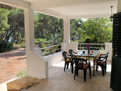 Photo for Two bedroom apartment with terrace and sea view Mudri Dolac, Hvar (A-5694-a)