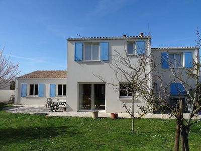 Photo for Large 5 bedroom house located near the ocean and in the marsh poitevin