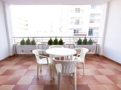 Photo for Air-conditioned Suite for 5 with Private Balcony Near the Beach!