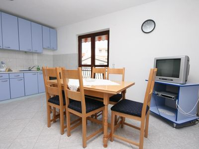 Photo for One bedroom apartment with balcony and sea view Rastići, Čiovo (A-2794-b)