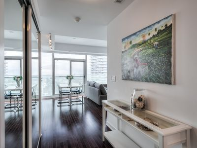 Photo for 60th+ floor lake view condo next to CN tower