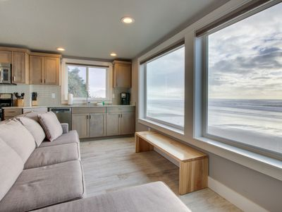 Photo for Amazing oceanfront & dog-friendly condo w/ jetted tub & close beach access!
