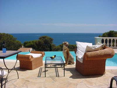 Photo for VILLA WITH POOL BEAUTIFUL SEA 500 METRES FROM THE TOWN CENTRE 6 PEOPLE