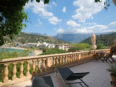 Photo for Charming cottage house on Repic beach in Port de Sóller
