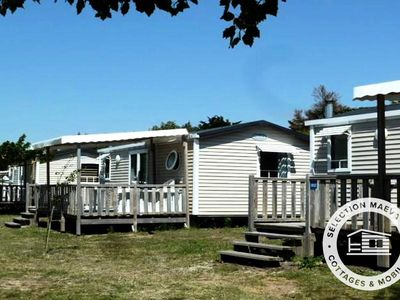 Photo for Camping Les Paludiers *** - Maeva Camping - Mobil Home Comfort Plus 3 Rooms 4/6 People