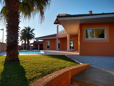 Photo for SUPERB VILLA of 180m ² on ground 1000m ² raised and carefully maintained