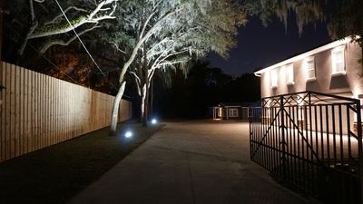 Photo for 2 Acre Private Gated Estate w/ Screened pool!