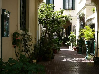 Photo for Quiet apartment at San Telmo, surrounded by plants, beautifully decorated