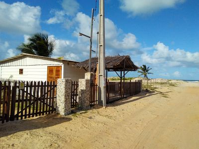 Photo for Chale on the beach of Northeast (Sergipe coast: Saco beach, Mangue Seco)