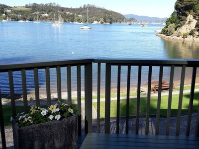 Photo for The Beach Bach - Water's Edge, Bay of Islands