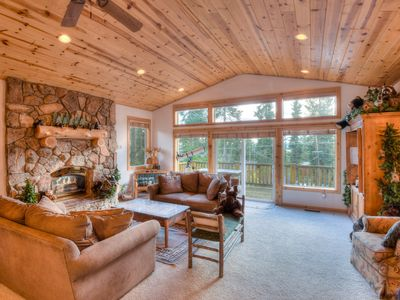 Photo for Charming, Spacious Home with Deck Views