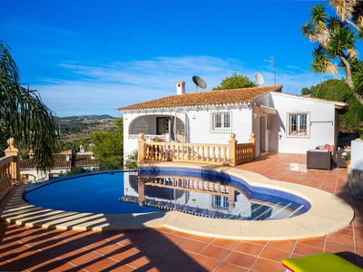 Photo for Vacation home Rinconcito in Moraira - 6 persons, 3 bedrooms