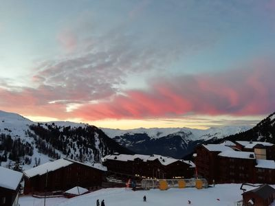 Photo for Belle Plagne Top Rare. Ski in / out ESF and high shops of the resort