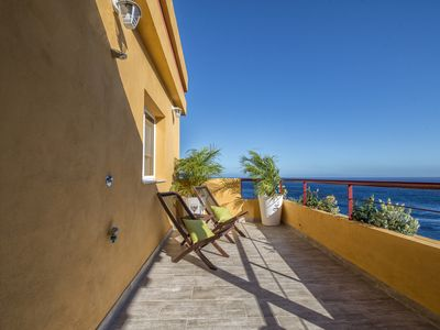 Photo for COMFORTABLE APARTMENT WITH FIRST LINE TERRACE AND SEA VIEWS