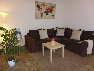 Photo for Holiday in the border triangle - apartment near the vineyard