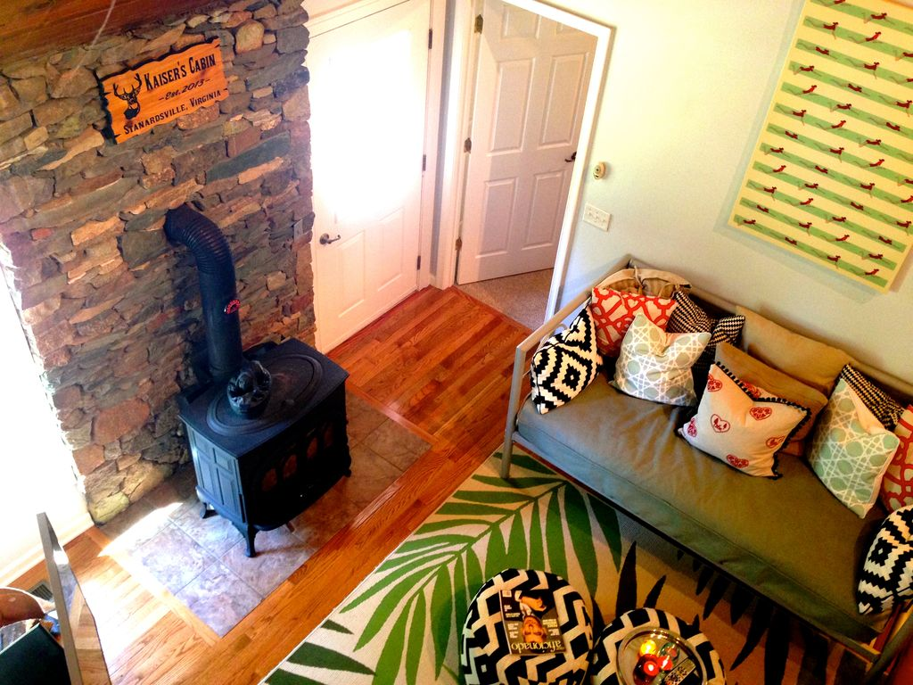 Cabina accogliente east of shenandoah parco homeaway for Affitto cabina charlottesville va