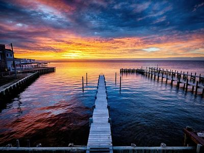 Photo for Surf City Bayfront with Dock