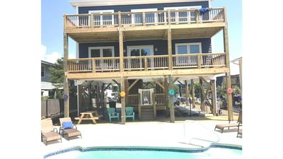 Photo for BRAND NEW OCEAN VIEW 5 BR/3.5 BA HOME with PRIVATE POOL-SLEEPS 13