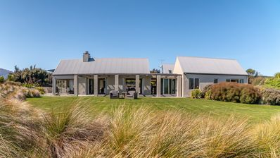 Photo for Expansive family retreat with stunning views of Lake Wanaka and the mountains.