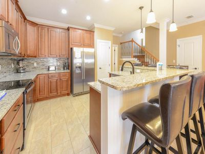 Photo for Blue Marlin - Beautiful Home Sleeping 12! Community Pool, Free WiFi, Nearby Shopping and Dining!