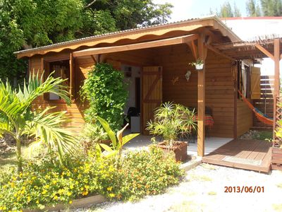 Photo for Creole bungalow Sainte Anne Guadeloupe