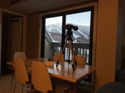 Photo for CONDO WITH A VIEW!!  2 Bdrm Condo w/Free Ski Shuttle, Hot Tub & Indoor Pool