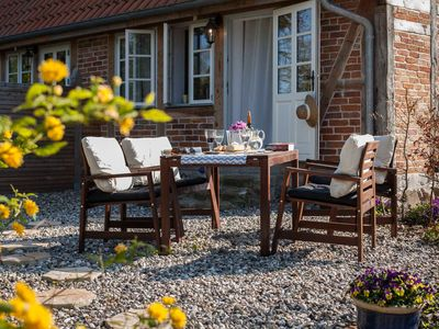 Photo for Exclusive apartment 3 for 4 persons near Timmendorfer Strand - Ferienhof am Hemmelsdorfer See