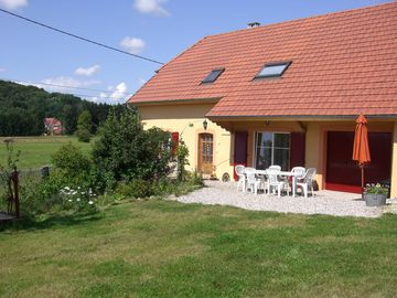 FERMETTE GITE 3 EPIS COUNTRY UNDER VOSGIEN AT ETUEFFONT, 8 PERSONS +