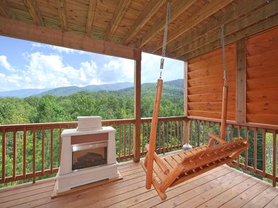 Photo for Beautiful Views from this 1 Bedroom Luxury Cabin!