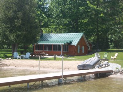 Photo for Bellaire / Intermediate Lake Cabin (Taking Fall 2019 reservations)