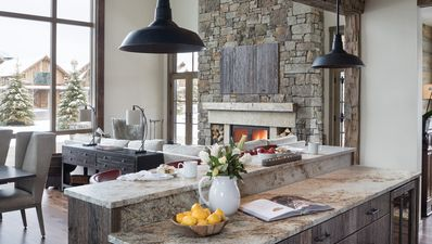 Photo for Sophisticated and rustic lodge with modern aesthetic in Teton Village