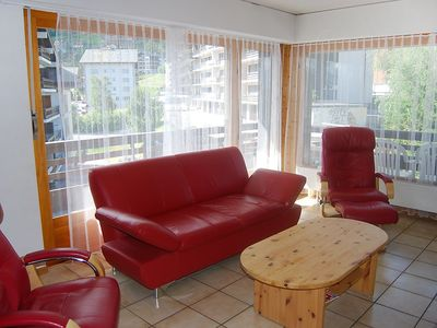 Photo for Apartment in the center of Nendaz with Internet, Lift, Balcony, Washing machine (37693)