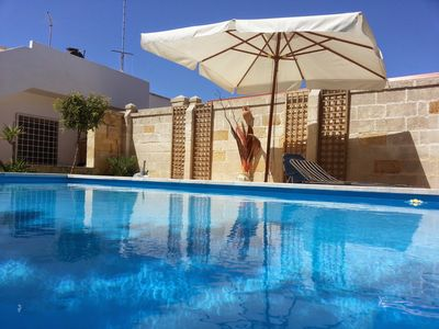 Photo for LECCE casalabate villa with private pool on the sea just 15 km from LECCE