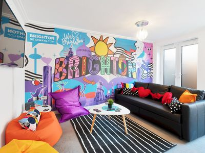 Photo for Brighton's Best BIG House - 3rd Night FREE - Sleeps 12 to 18 guests - 4 bedrooms
