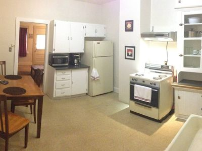 Photo for 130-year-old recently remodeled 1 bedroom 1 bath apartment in Tri-plex.