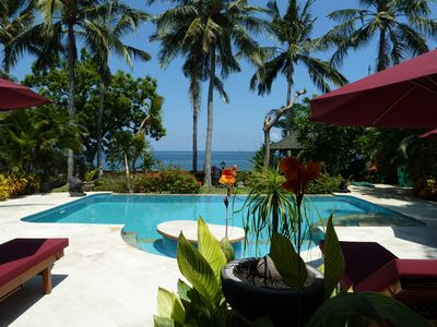Photo for Beachfront villa in top location quiet and newly renovated including breakfast!