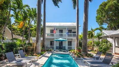 Photo for Private Tropical Retreat with Private Pool - 1/2 Block off Duval St.