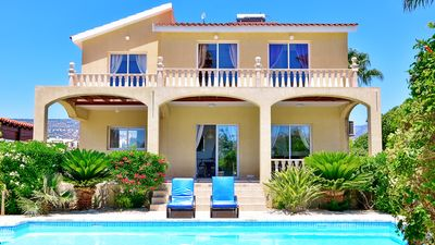 Photo for Villa with Private Pool and Sea Views & Air Conditioning Throughout